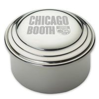 Chicago Booth Pewter Keepsake Box