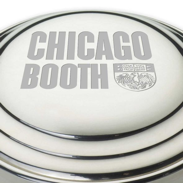 Chicago Booth Pewter Keepsake Box - Image 2