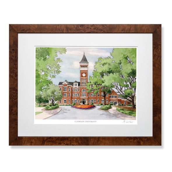Clemson Campus Print- Limited Edition, Large