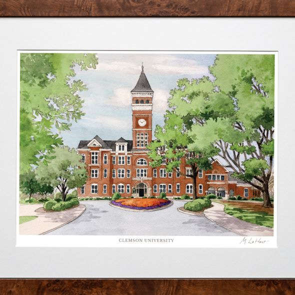 Clemson Campus Print- Limited Edition, Large - Image 2