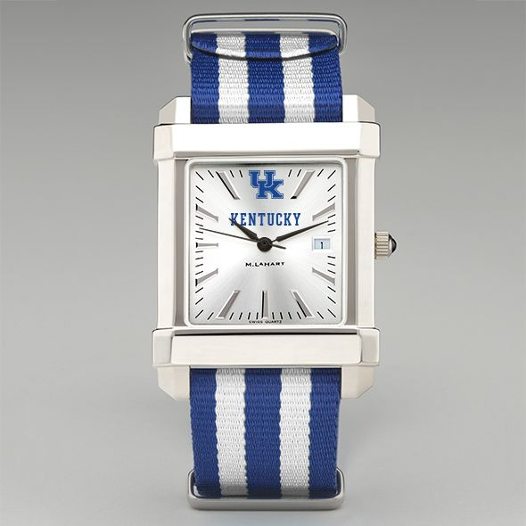 University of Kentucky Collegiate Watch with NATO Strap for Men - Image 2