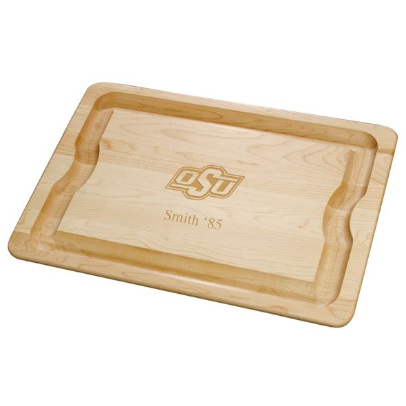 Oklahoma State University Maple Cutting Board