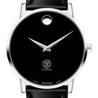 SC Johnson College Men's Movado Museum with Leather Strap