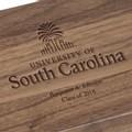 University of South Carolina Solid Walnut Desk Box - Image 2