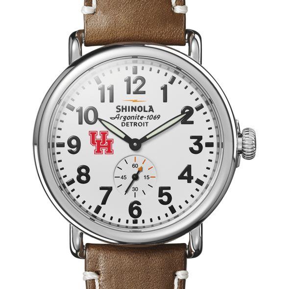 Houston Shinola Watch, The Runwell 41mm White Dial - Image 1