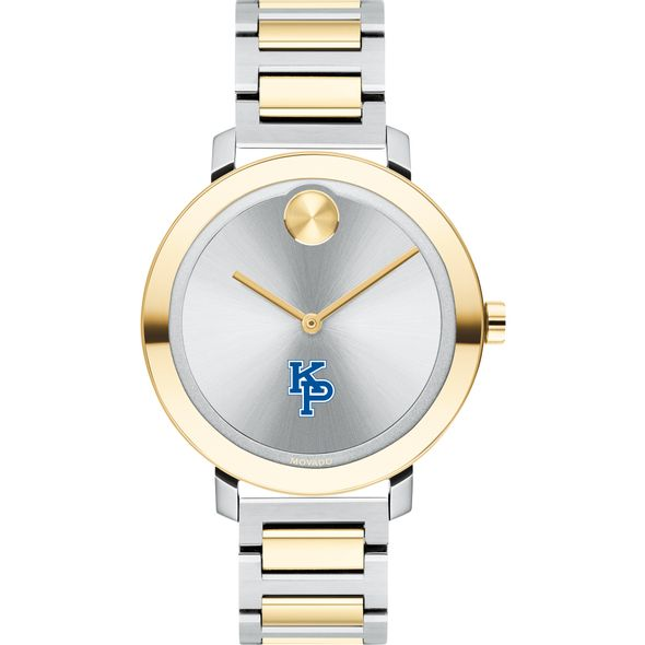 US Merchant Marine Academy Women's Movado Two-Tone Bold 34 - Image 2