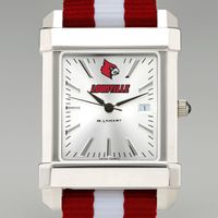 University of Louisville Collegiate Watch with NATO Strap for Men