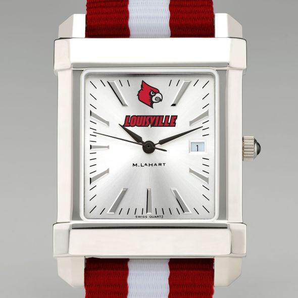 University of Louisville Collegiate Watch with NATO Strap for Men