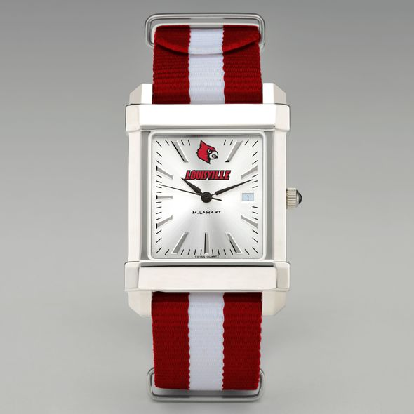 University of Louisville Collegiate Watch with NATO Strap for Men - Image 2