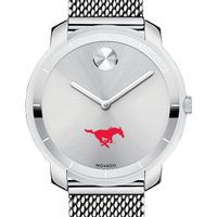 Southern Methodist University Women's Movado Stainless Bold 36