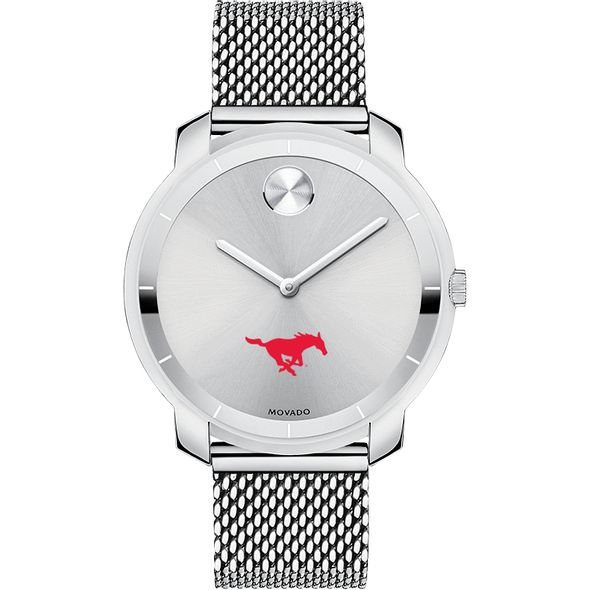Southern Methodist University Women's Movado Stainless Bold 36 - Image 2