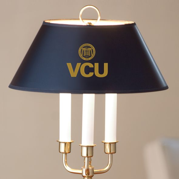 Virginia Commonwealth University Lamp in Brass & Marble - Image 2