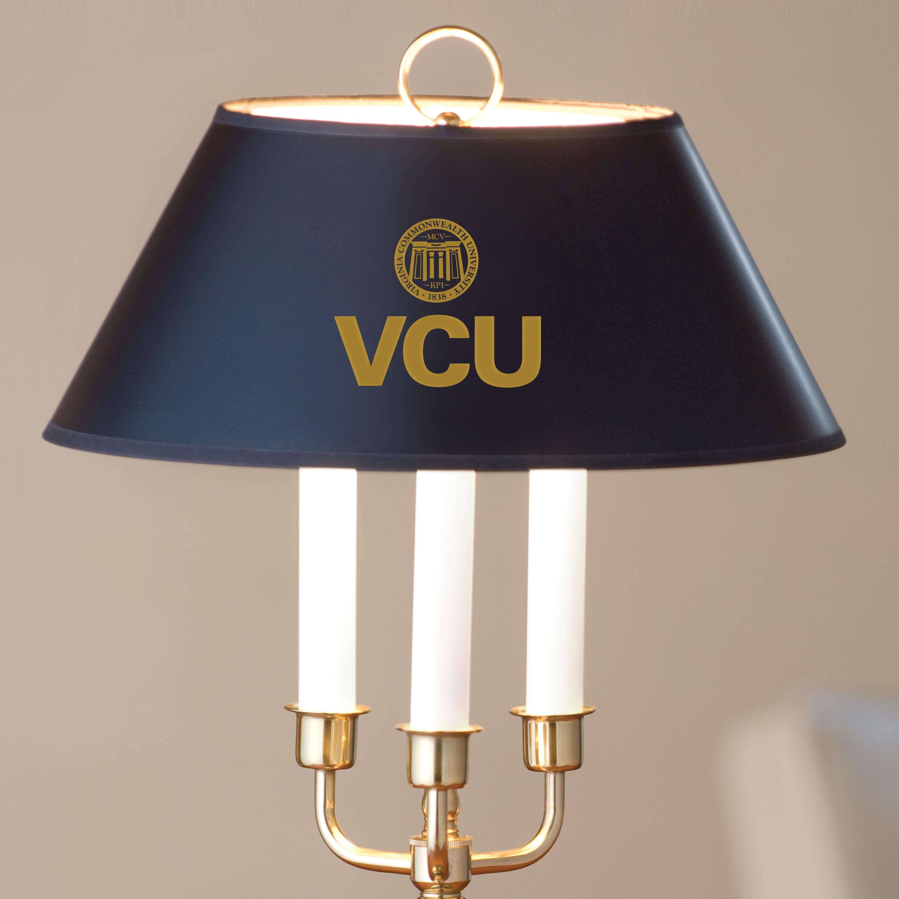 Virginia Commonwealth University Lamp in Brass & Marble - Image 2
