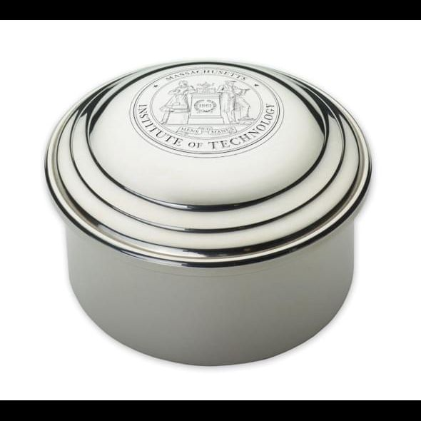 MIT Pewter Keepsake Box - Image 1