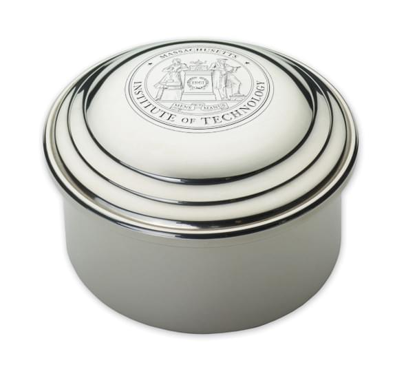 MIT Pewter Keepsake Box