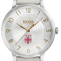 Brown University Women's BOSS White Leather from M.LaHart
