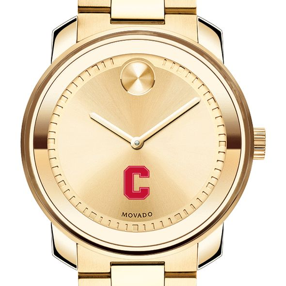 Cornell University Men's Movado Gold Bold