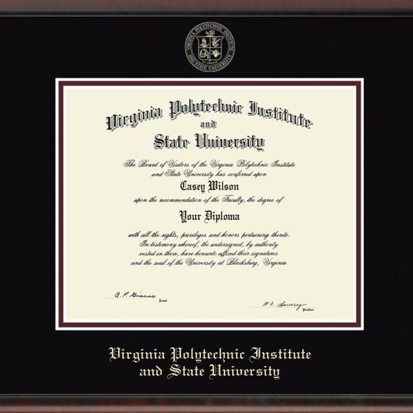 Virginia Tech Fidelitas Frame - Masters/PhD - Image 2