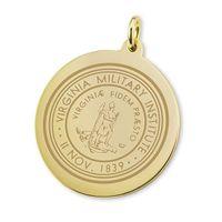 VMI 18K Gold Charm