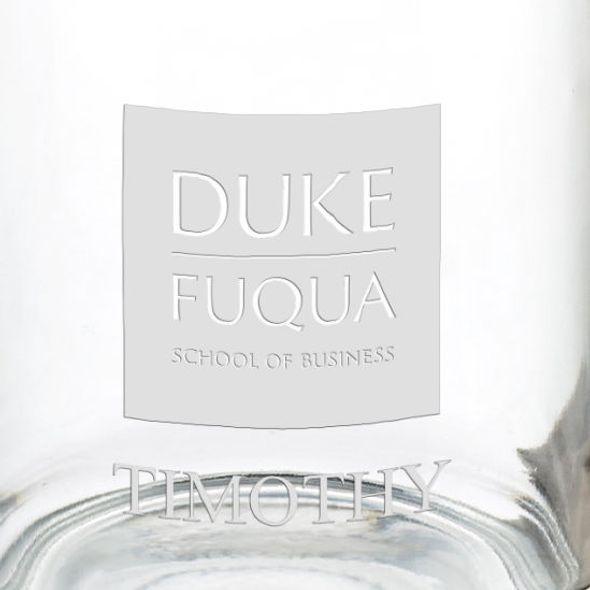 The Fuqua School of Business 13 oz Glass Coffee Mug - Image 3