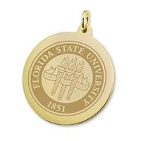 Florida State 18K Gold Charm