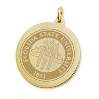 Florida State 18K Gold Charm