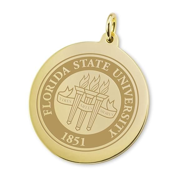 Florida State 18K Gold Charm - Image 1