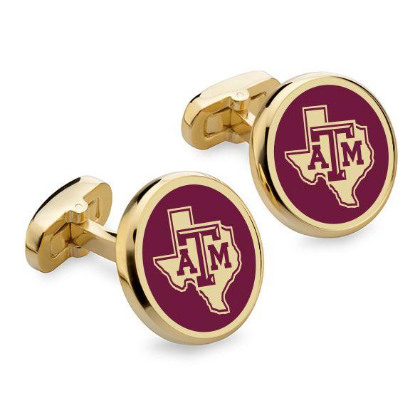 Texas A&M Enamel Cufflinks