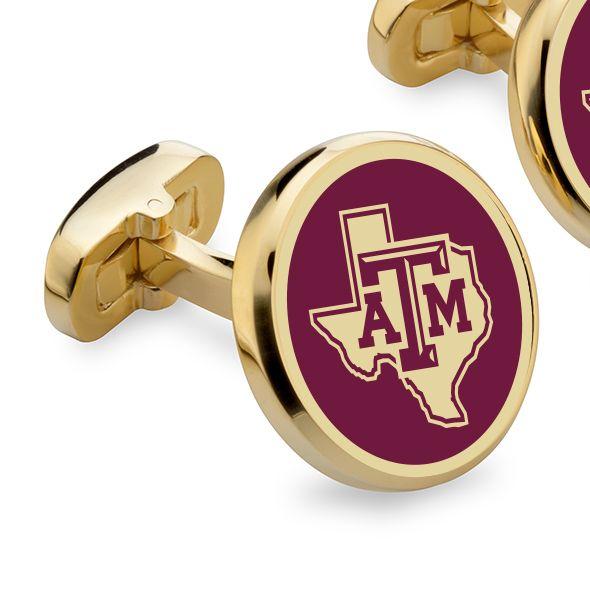 Texas A&M Enamel Cufflinks - Image 2