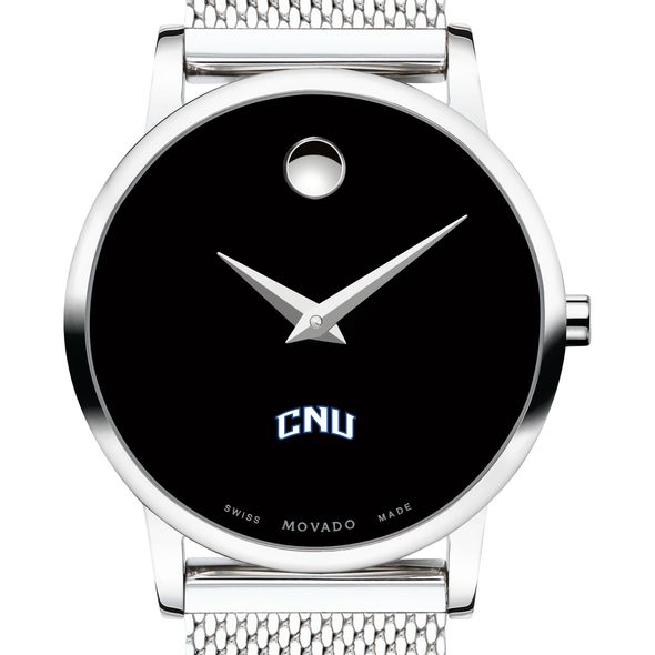 Christopher Newport University Women's Movado Museum with Mesh Bracelet