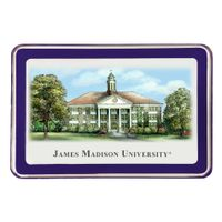 James Madison Eglomise Paperweight