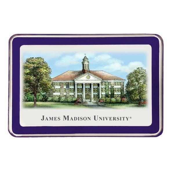 James Madison Eglomise Paperweight