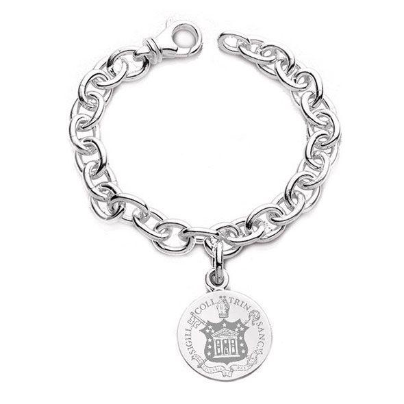 Trinity College Sterling Silver Charm Bracelet