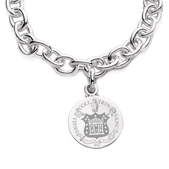Trinity College Sterling Silver Charm Bracelet - Image 2