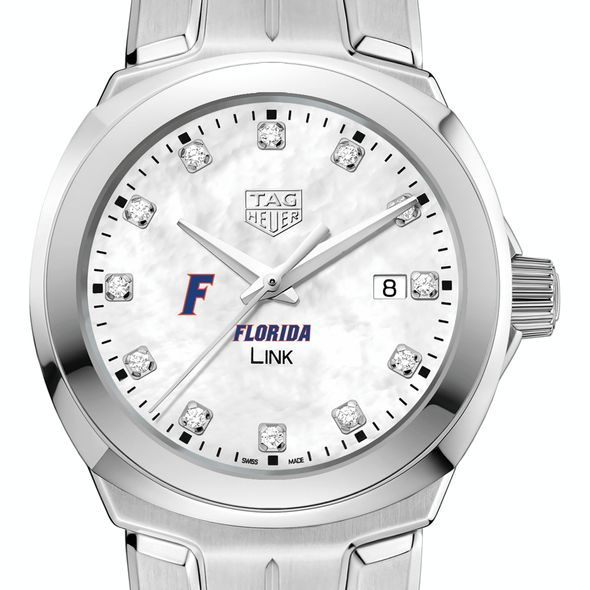 University of Florida TAG Heuer Diamond Dial LINK for Women