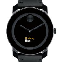 Berkeley Haas Men's Movado BOLD with Leather Strap