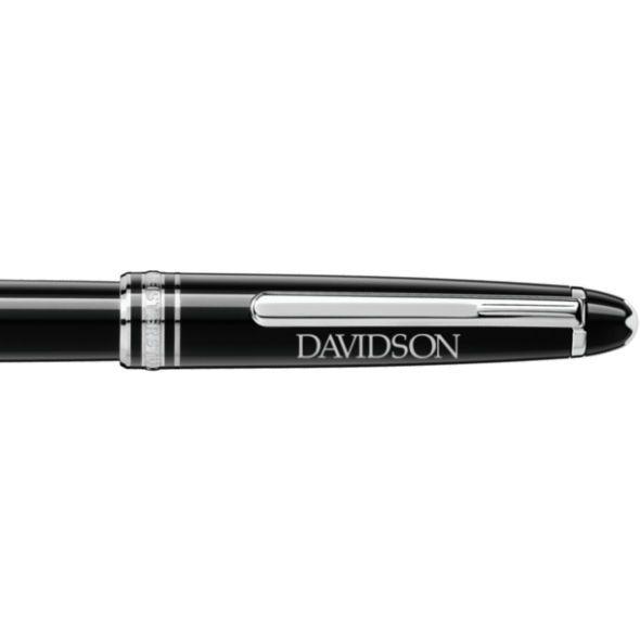 Davidson College Montblanc Meisterstück Classique Rollerball Pen in Platinum - Image 2