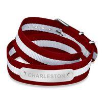 Charleston Double Wrap NATO ID Bracelet