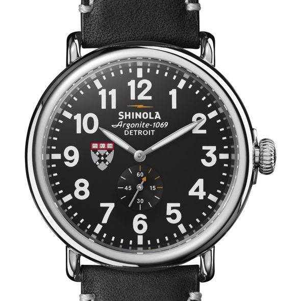 HBS Shinola Watch, The Runwell 47mm Black Dial