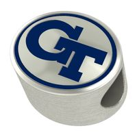 Georgia Tech Enameled Premium Bead