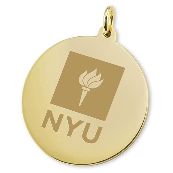 NYU 18K Gold Charm - Image 2
