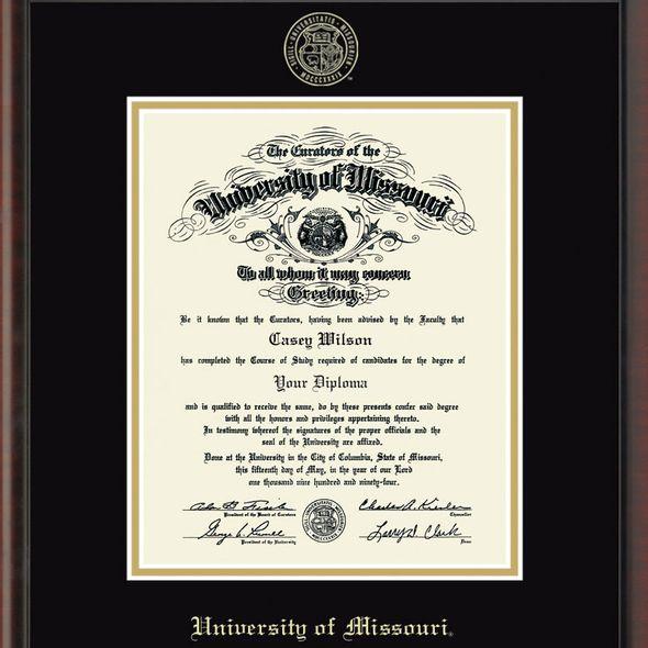 University of Missouri PhD Diploma Frame, the Fidelitas - Image 2