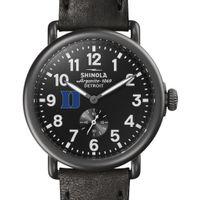 Duke Shinola Watch, The Runwell 41mm Black Dial