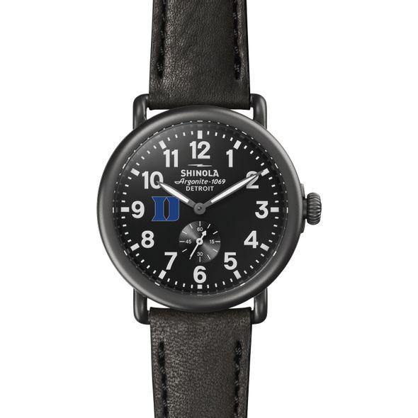 Duke Shinola Watch, The Runwell 41mm Black Dial - Image 2
