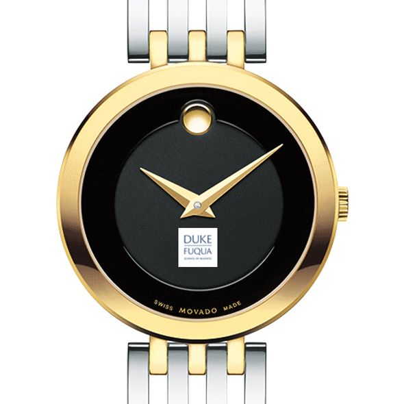 Duke Fuqua Women's Movado Esparanza Two-Tone Museum with Bracelet - Image 1