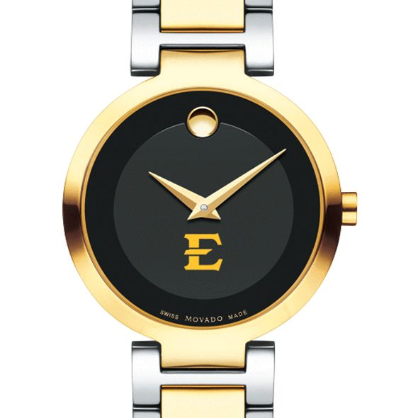East Tennessee State University Women's Movado Two-Tone Modern Classic Museum with Bracelet