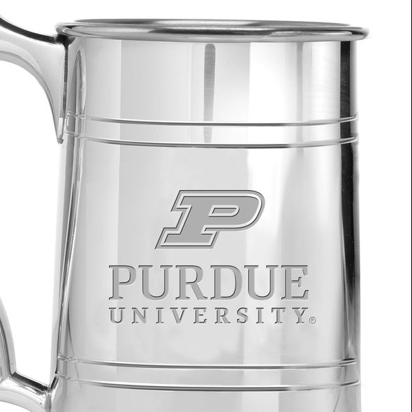 Purdue University Pewter Stein - Image 2
