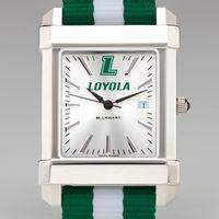 Loyola Collegiate Watch with NATO Strap for Men