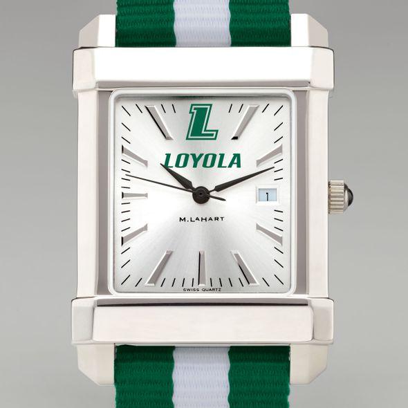 Loyola Collegiate Watch with NATO Strap for Men - Image 1