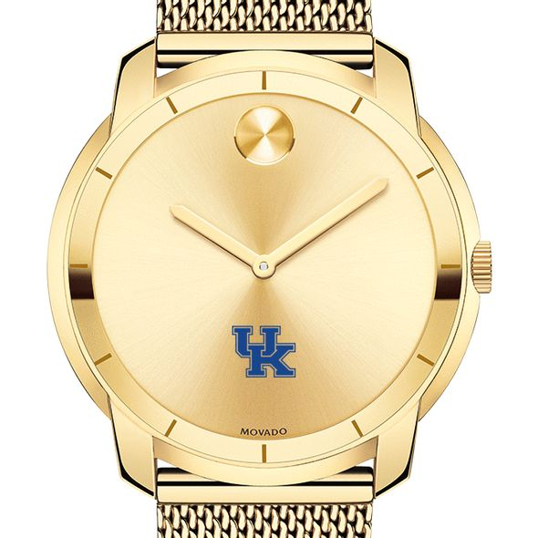 University of Kentucky Men's Movado Gold Bold 44